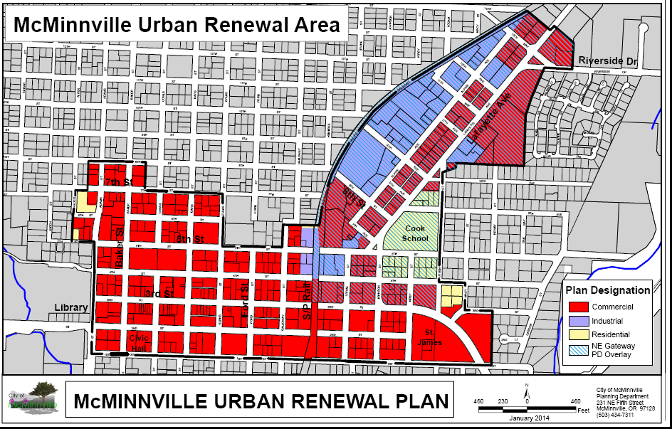 mcminnville urban renewal zone map 3 2017 png
