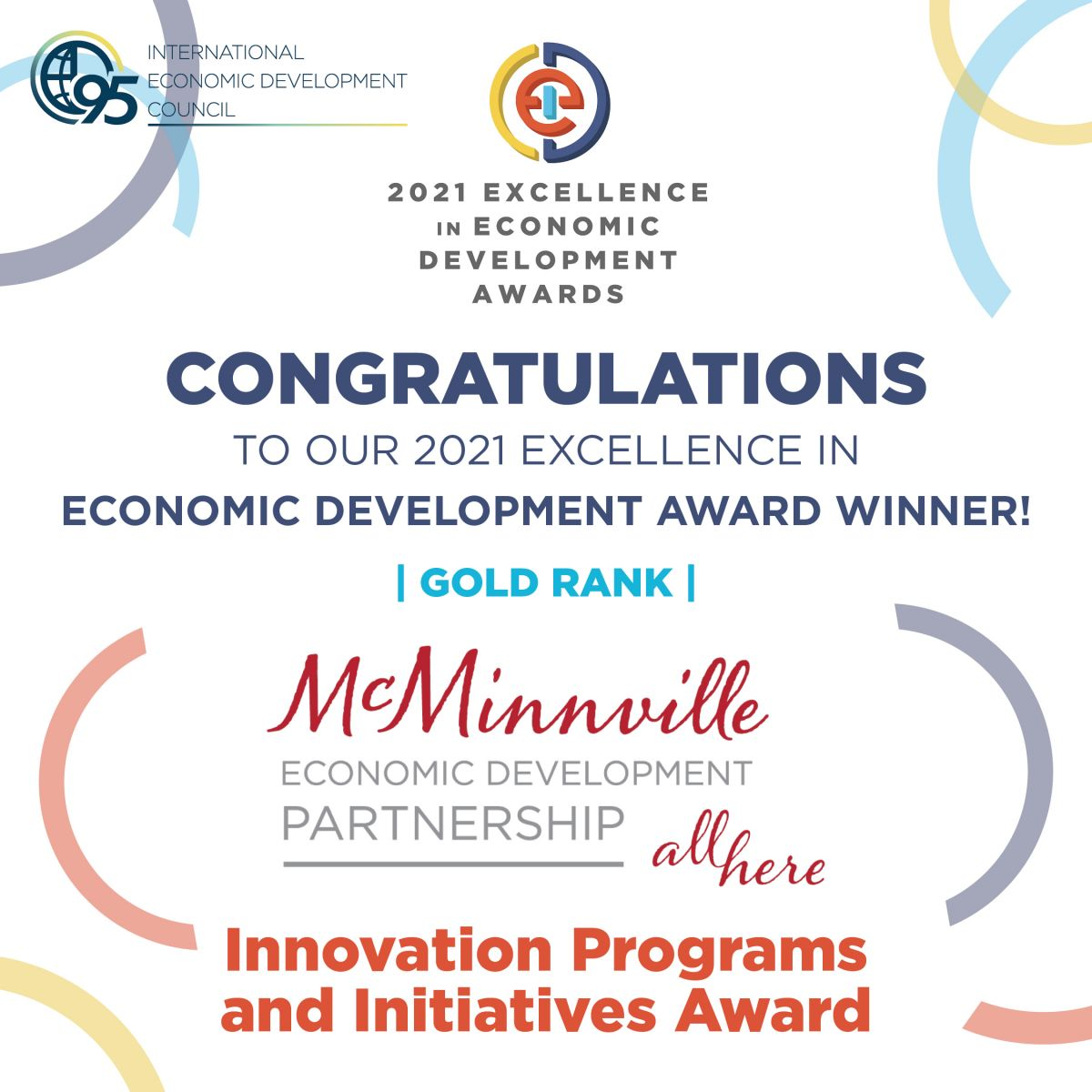 IEDC Award 2