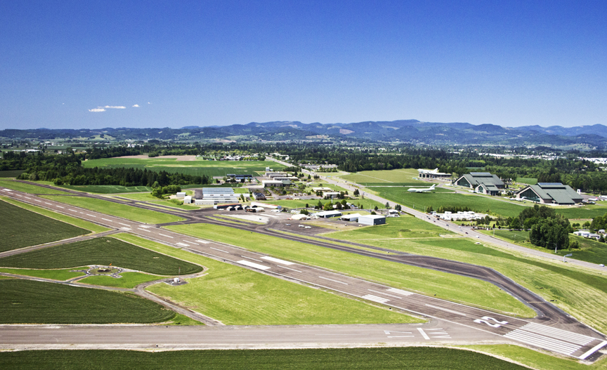 McMinnville's airport is the third busiest in the Northwest region