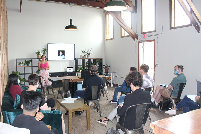 Shannon Presenting at workshop