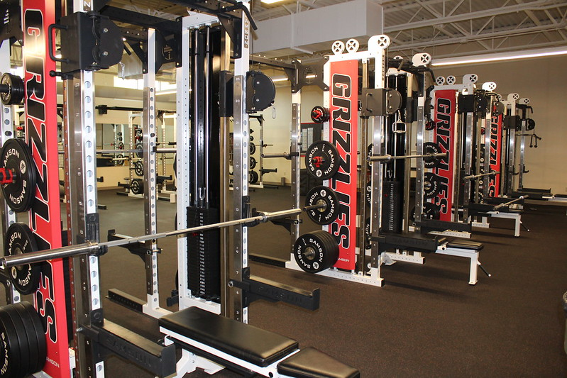 Mac High Weight room