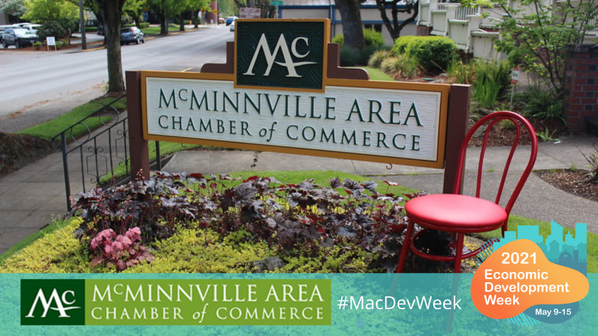 McMinnville Area Chamber Of Commerce, Red Chair