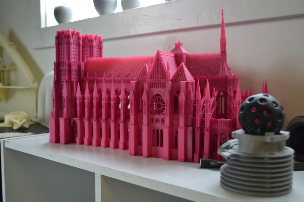 A cathedral printed at NW Rapid