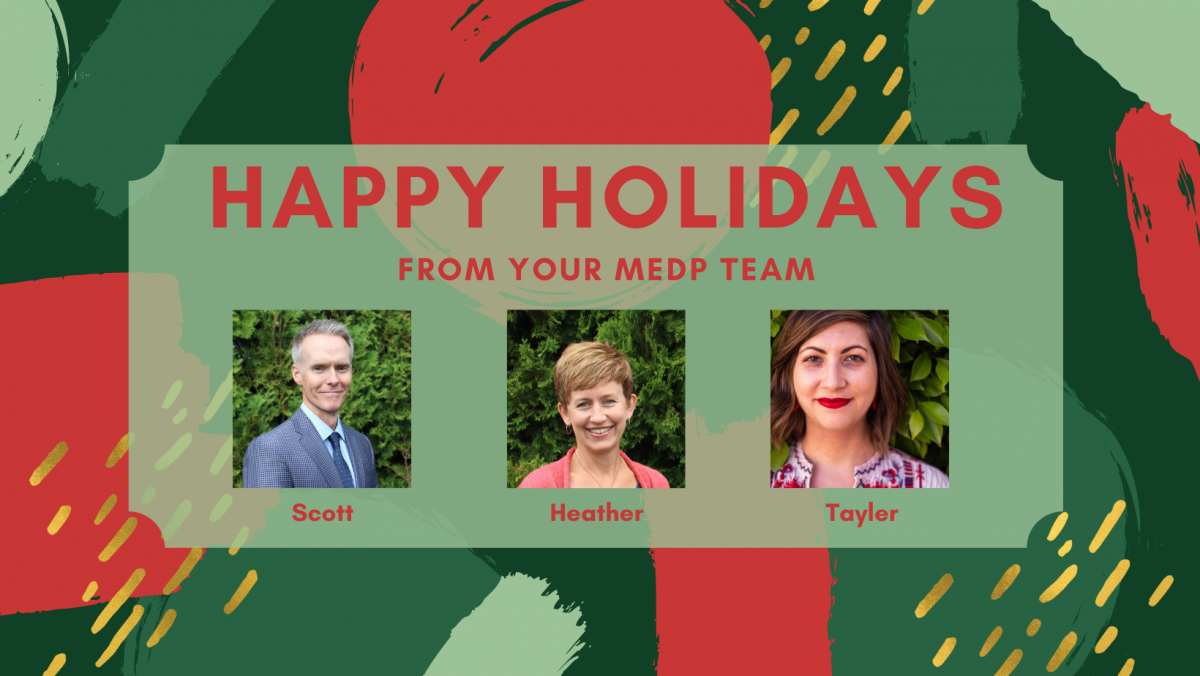 MEDP Holidays