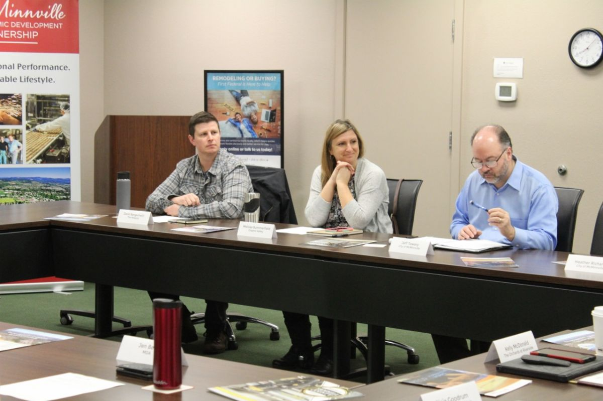 Photo from MEDP's recent Business Roundtable