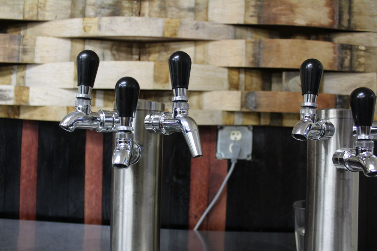 Taps at Bierly Brewing