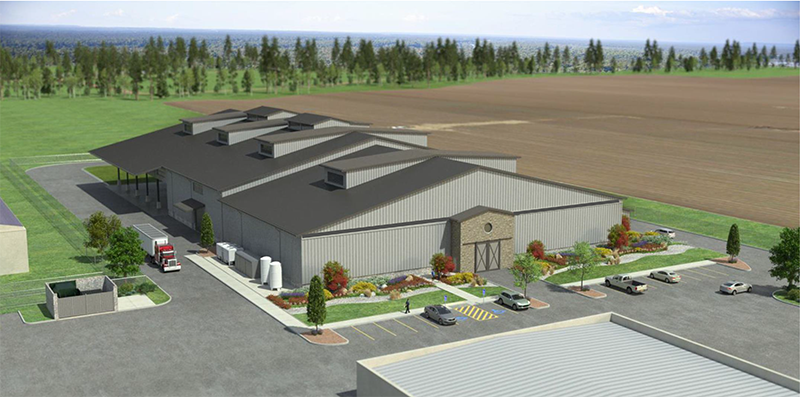 Jackson Family Wines McMinnville location rendering