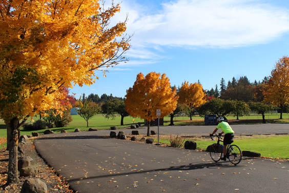 The McMinnville Matters Great Neighborhood Principles Blog features posts on elements such as bikeability (photo from McMinnville Matters)