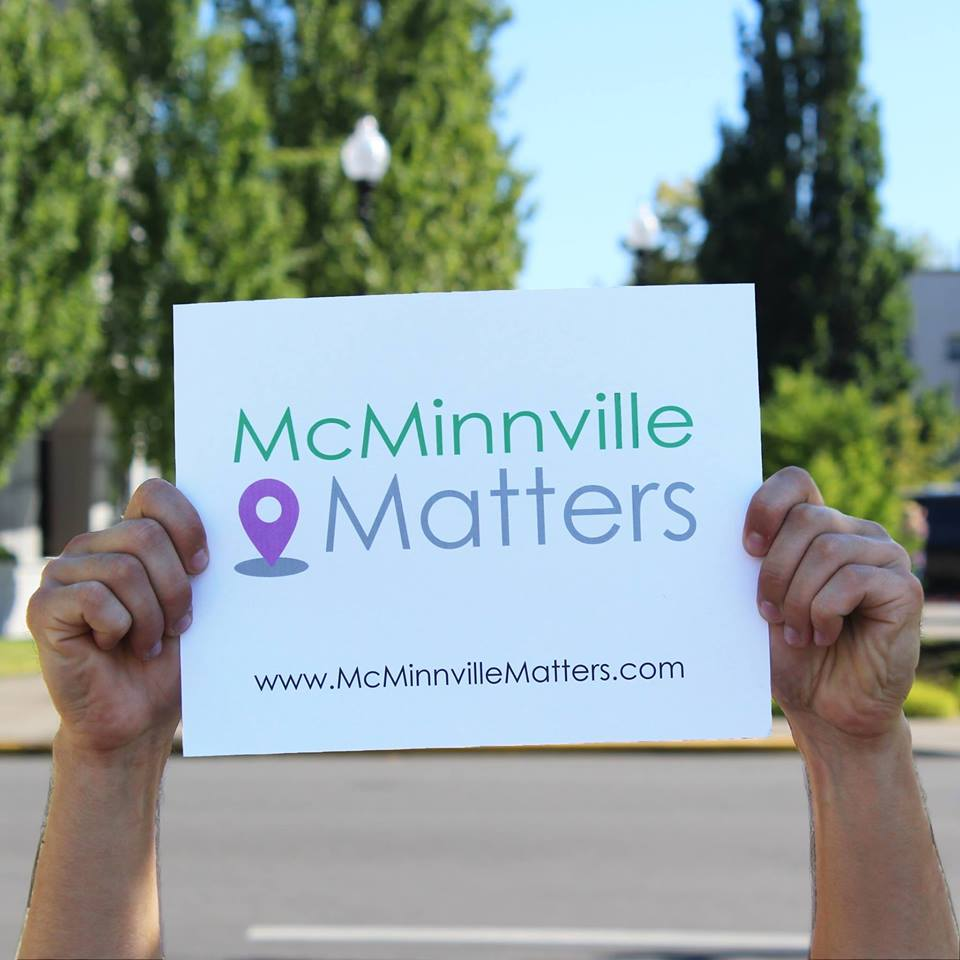 McMinnville Matters is an effort by the City of McMinnville planning department to inform citizens about planning concepts, projects, and places that matter to McMinnville