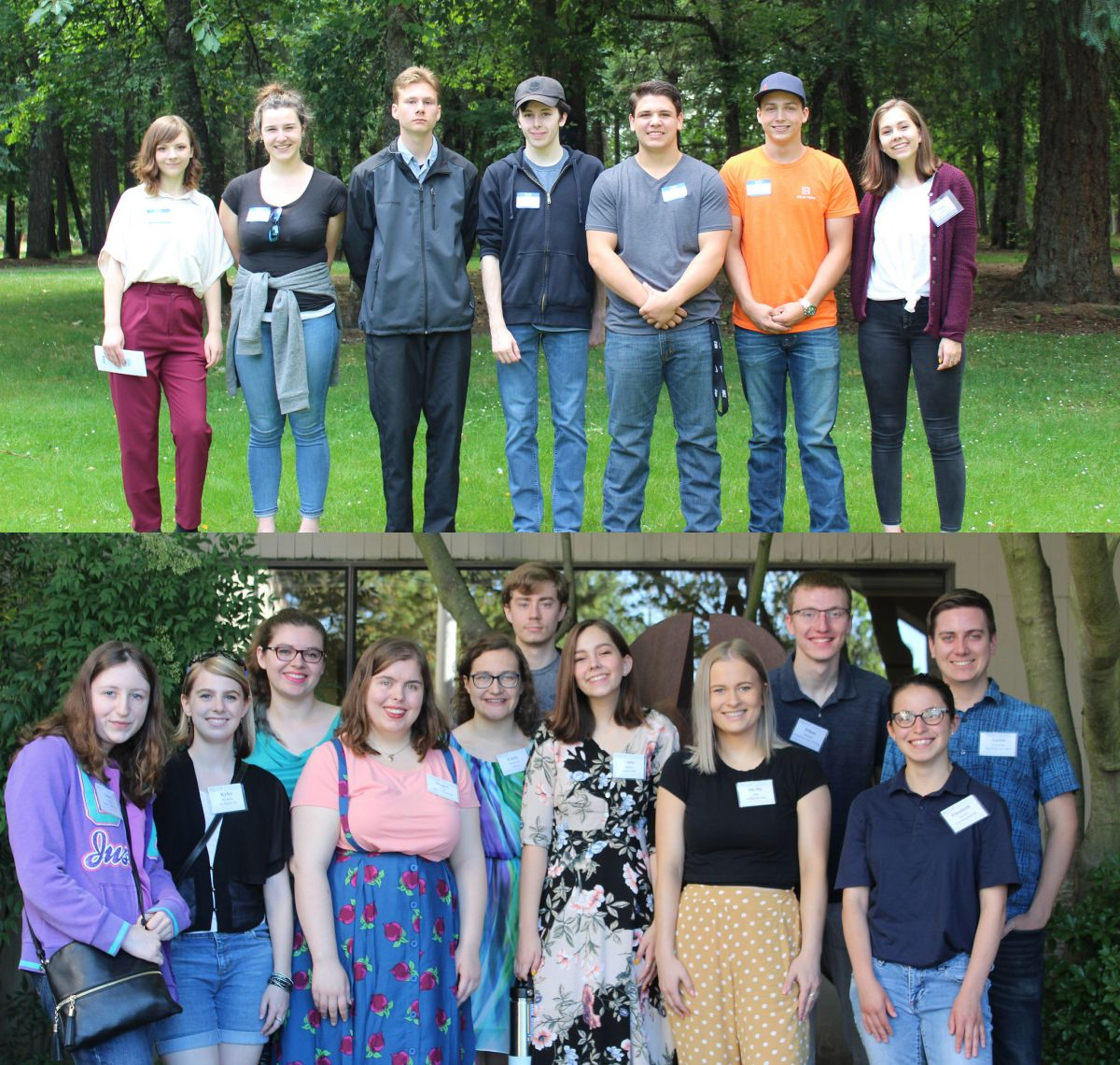Career Bound interns and McMinnville WORKS Interns