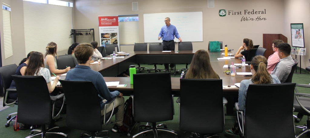 WORKS Interns learn about finance from local business leaders.