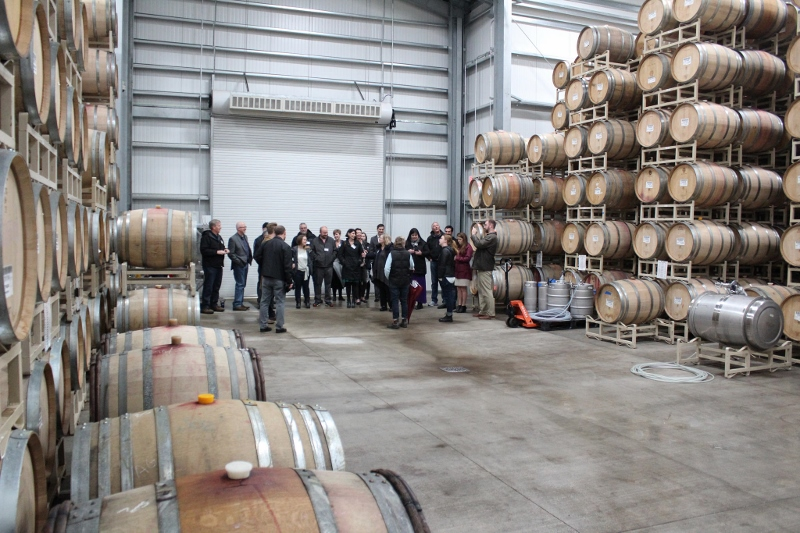 MEDP organized a VIP tour of Jackson Family Wines new state of the art facility in March of 2018