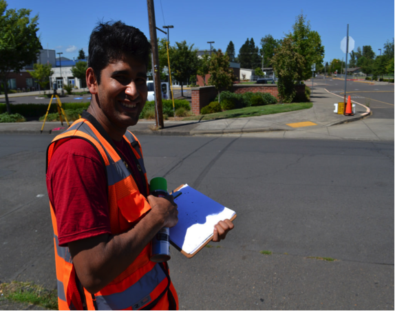 Abhinav - McMinnville Works Program Grad and new Cellar Ridge Construction Employee