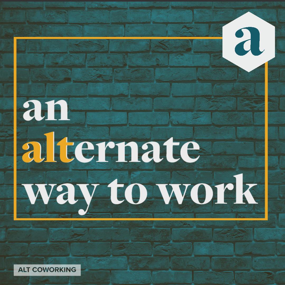 an alternate way to work