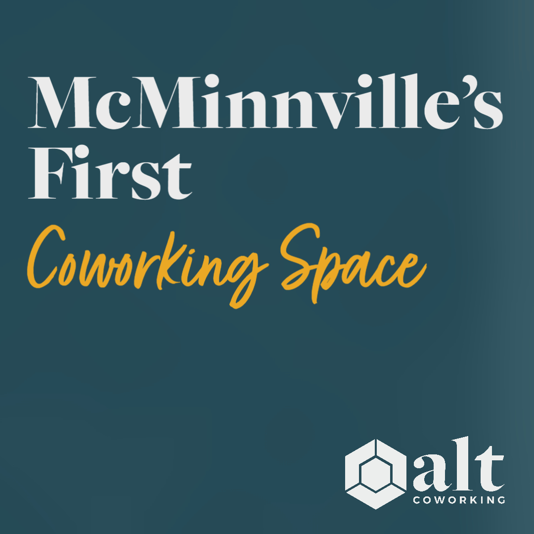 McMinnville's first coworking space