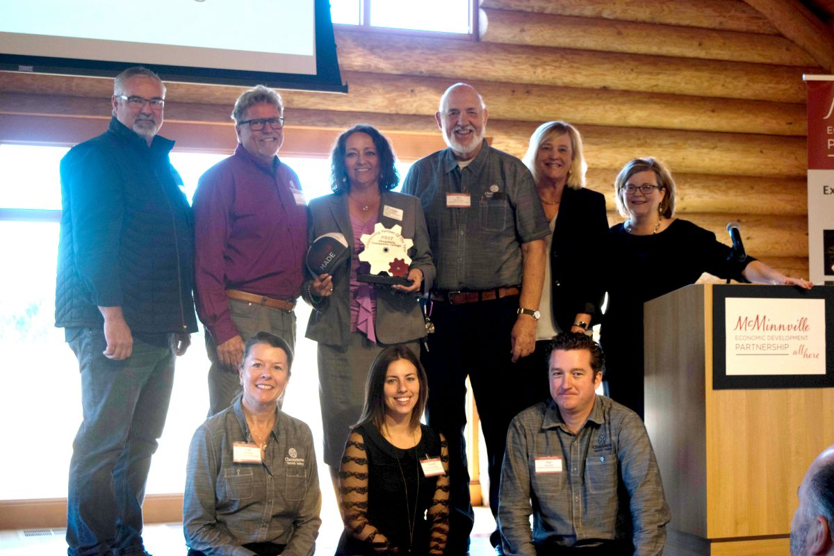 Chemeketa Community College receives the Outstanding Partner of the Year Award