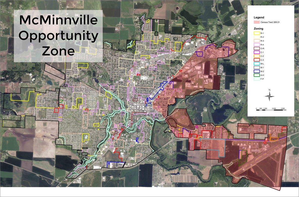 McMinnville Opportunity Zone