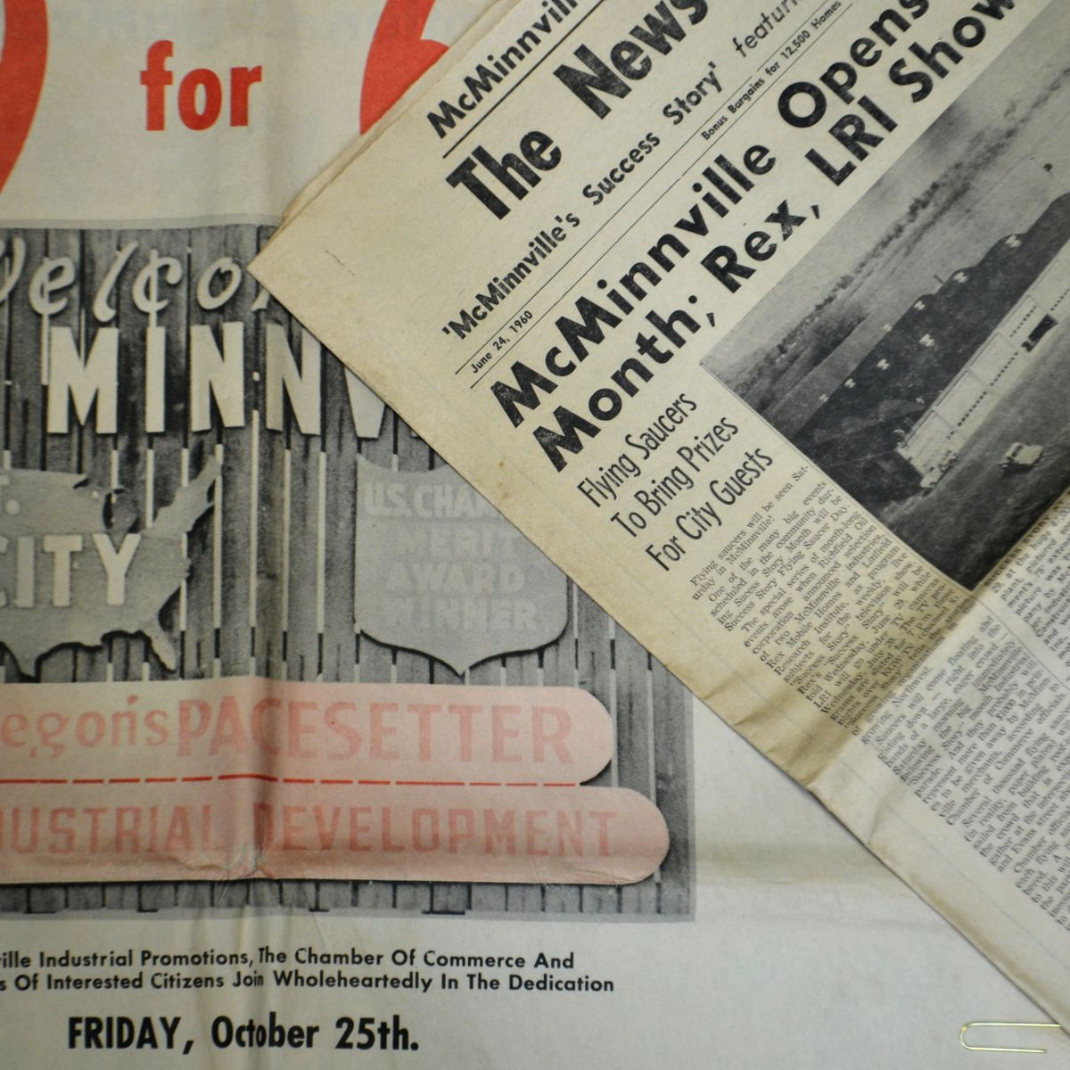 An old newspaper image showing MIP promise of 9 for '69